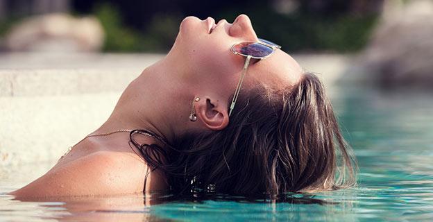 spa contests woman pool