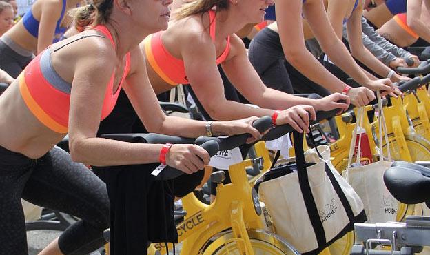 spinning class groupon