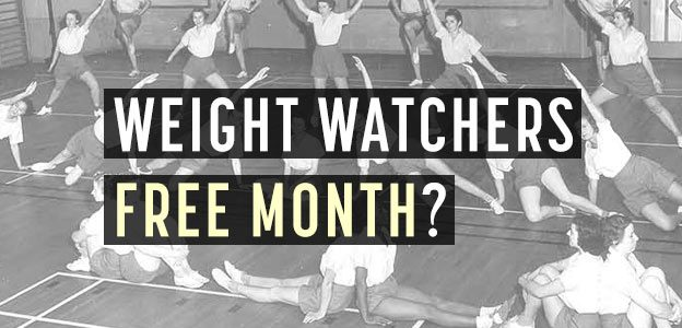 weight watchers free month
