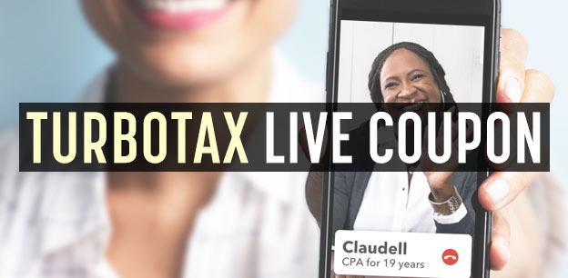 TurboTax Live Coupon: $10-30 Discount!