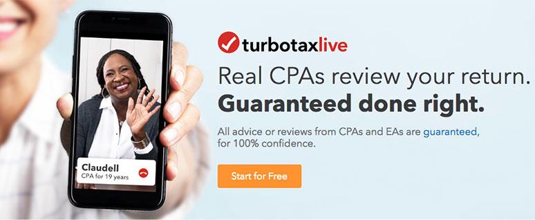 TurboTax Live Coupon: $10-30 Discount! | FreebieSpot net